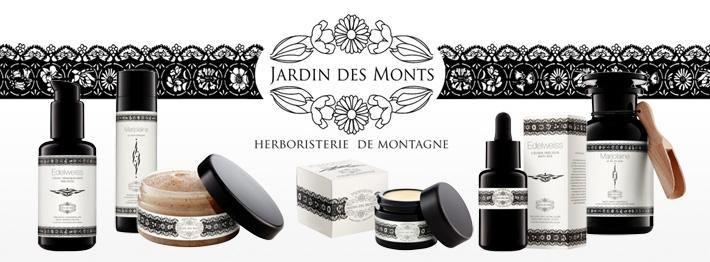Découvrez notre nouvelle gamme de cosmétiques leJardin des Monts.